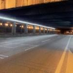 Los detalles de la iluminación de túneles