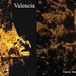 Valencia es una de las ciudades peor iluminadas del mundo
