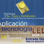 3er Foro y Exhibición: Aplicación de la tecnología LED
