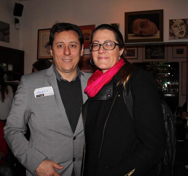 Maurici Ginés y Birgit Walters