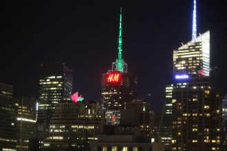 H&M Signage Added to the NYC Skyline