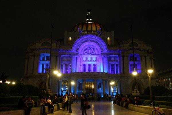 EFE. Palacio de Bellas Artes, Ciudad de México