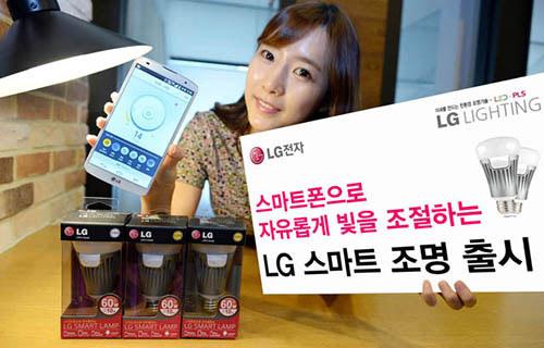 LG smart lamp