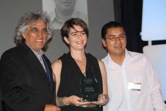 Gustavo Avilés, Ana Sboku, y Mario LLL
