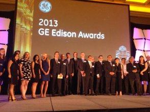 Ganadores de los GE Edison Awards durante la ceremonia de 2014