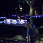 La policía de Luzinterruptus