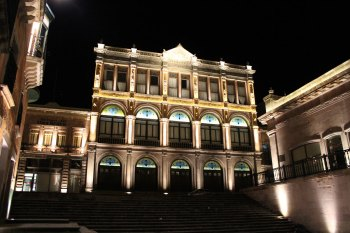 zacatecas teatro calderon iluminacion