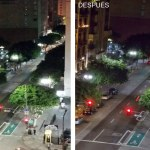 Las luminarias municipales de calles secundarias y avenidas de Los Ángeles, CA se actualizan