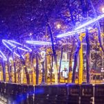 ACT Lighting da luz al espíritu navideño en Bruselas