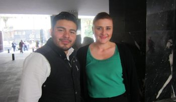 Arq. Rodolfo Ramírez y Lic. Karla Tapia