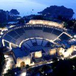Iluminación del Teatro de Taormina