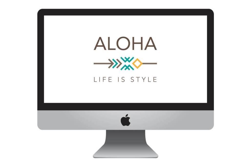 Logotipo Aloha