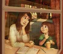 mama con hija mirando por la ventana