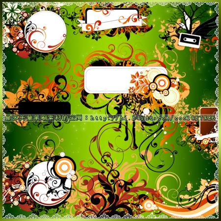 floral frame brushes3