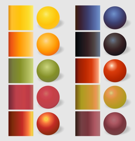 fruits gradients