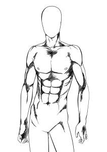 Dibujo cuerpo 3