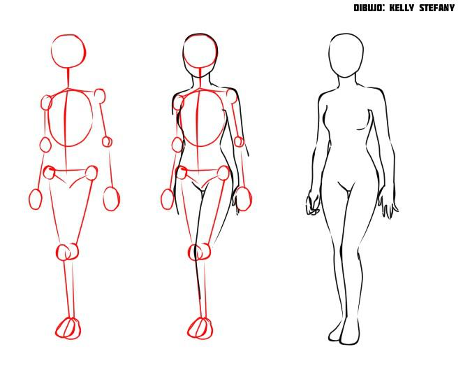 Cómo dibujar el cuerpo humano (Manga) | IlustraIdeas
