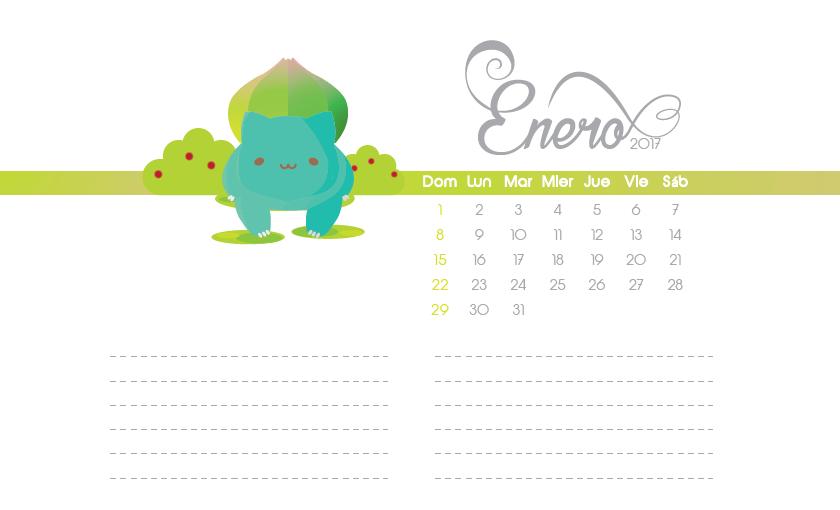 calendario-pokemón-2017-enero-LiziLi