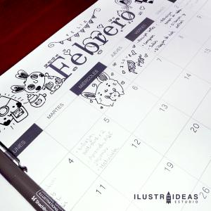 calendario organizador