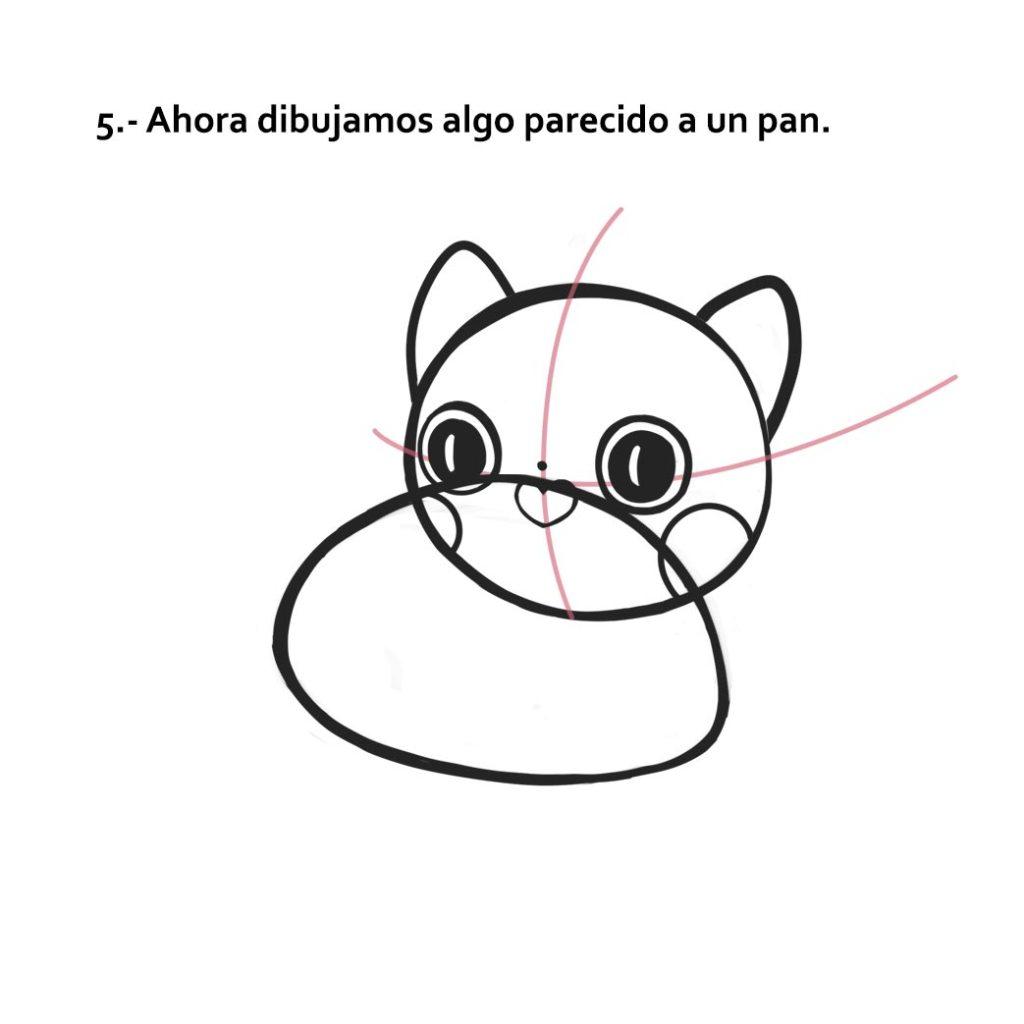 Cómo dibujar a un lindo gatito