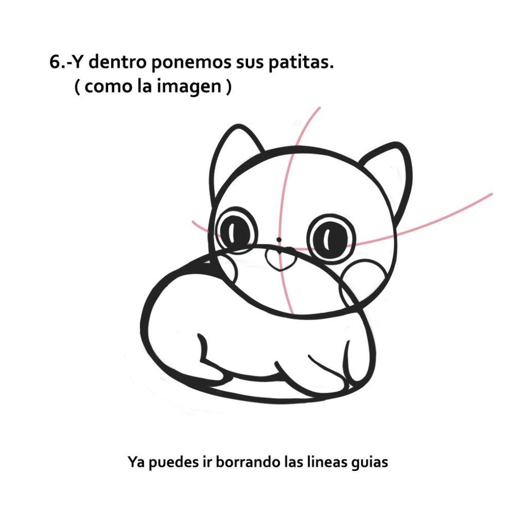 ¿Cómo dibujar a un lindo gatito en 7 pasos?