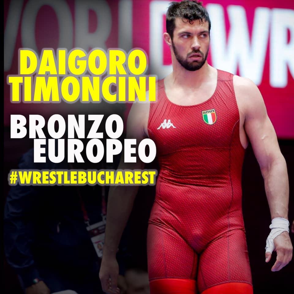 Daigoro Timoncini, bronzo europeo 2019