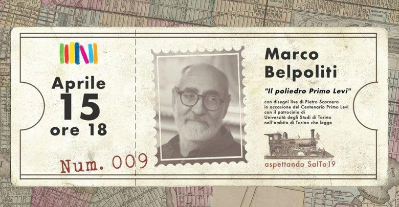 immagine evento con Marco Belpoliti
