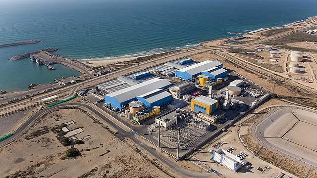 impianto desalinizzazione israele