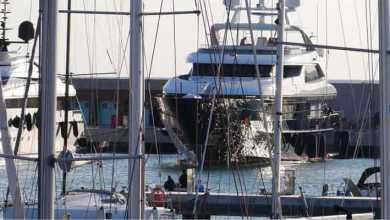 imbarcazioni al porto di pisa