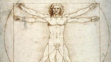 Uomo Vitruviano di Leonardo
