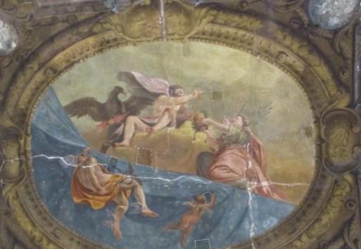 restauro affresco vidoniana bologna