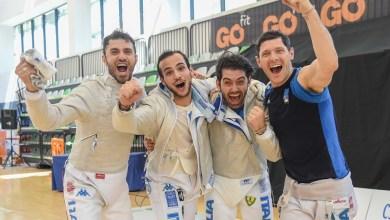italia sciabola maschile vince a Madrid
