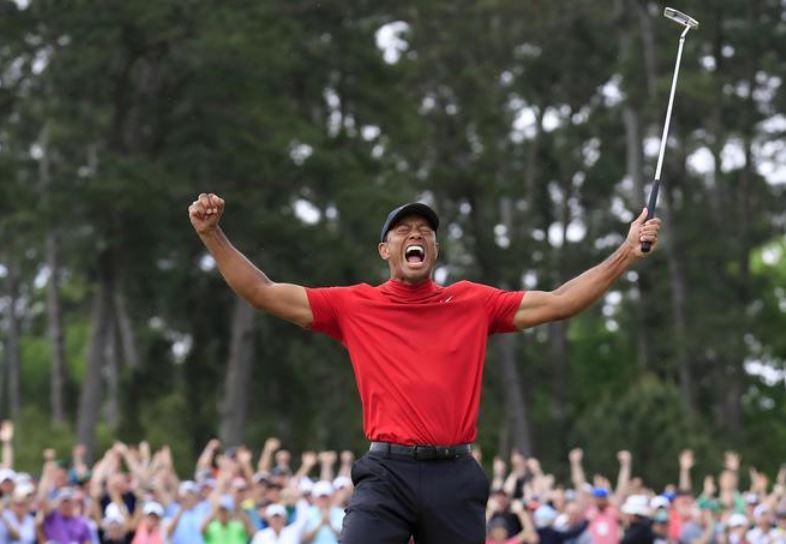 Tiger Woods alla casa Bianca