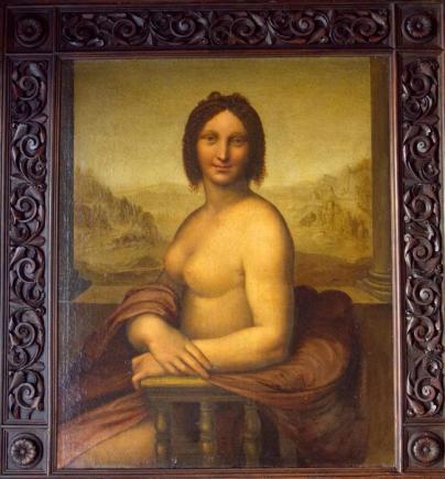 la gioconda nuda, leonardo vive roma