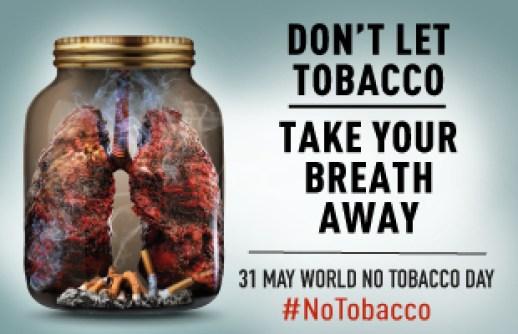 fumo, giornata mondiale senza tabacco