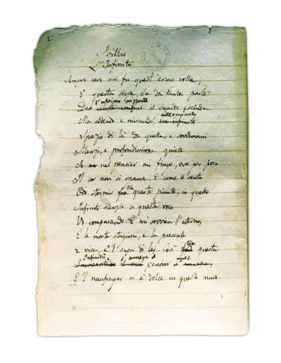 """""""L'Infinito"""" Giacomo Leopardi"""