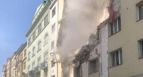 Austria: crolla palazzo a Vienna, 14 feriti di cui 4 gravi