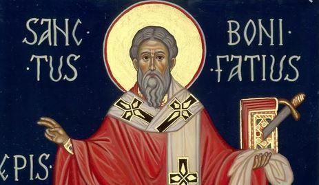 5 giugno, San Bonifacio vescovo di Magonza e martire