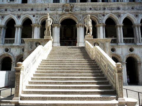 Scala dei Giganti - Palazzo Ducale