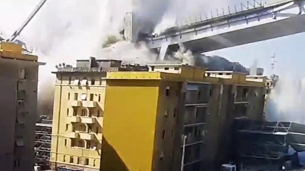 """l premier Conte """"La tragedia del ponte di Genova non sarà oscurata"""""""