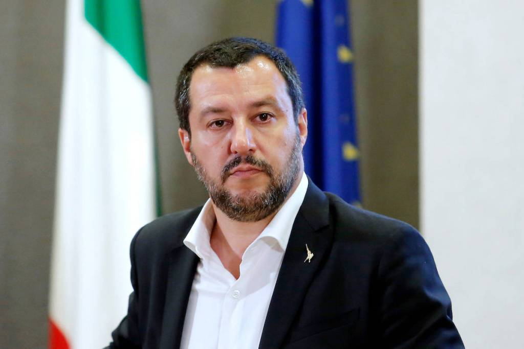 open arms salvini