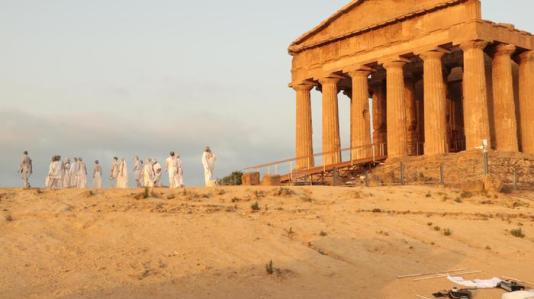 eroi e miti in scena nella valle dei templi