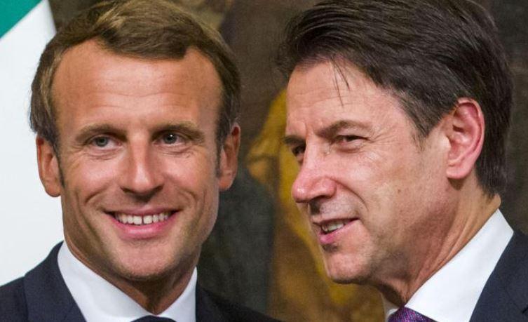 Italia-Francia, Macron: