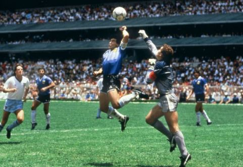 Maradona Mano de Dios, Mondiale 1986