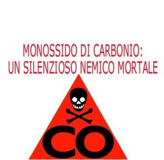 cartello monossido di carbonio