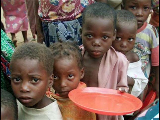 africa bambini assistenza umanitaria