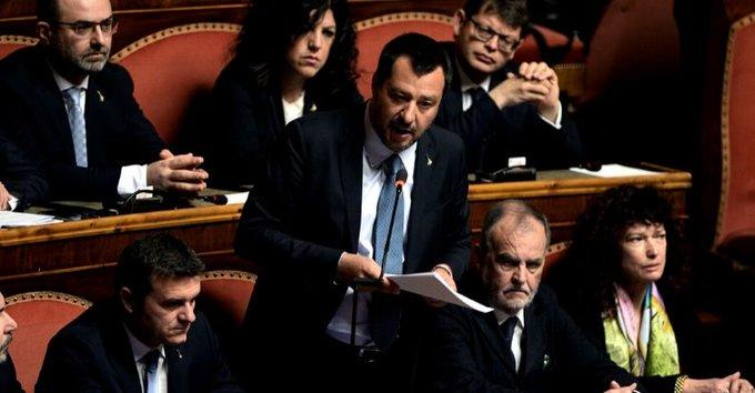 Gregoretti senato Salvini