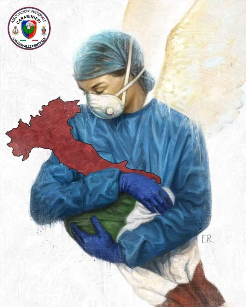 carabinieri omaggio medici infermieri