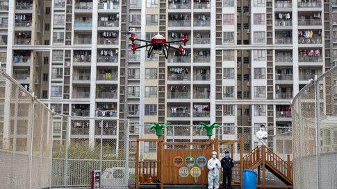 droni spostamenti cittadini