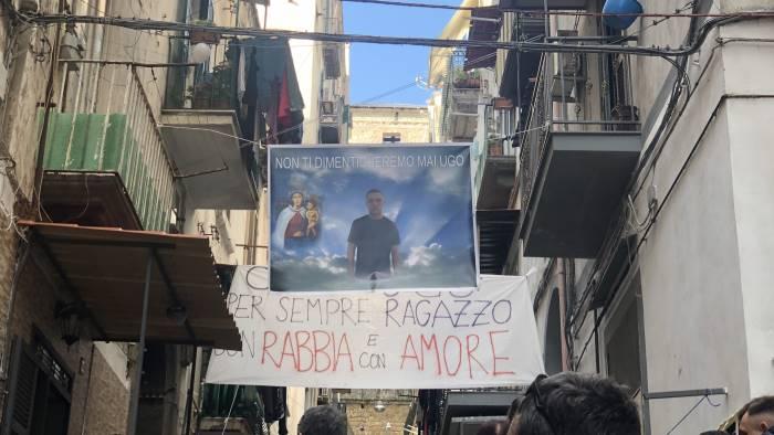 Ugo Russo funerale